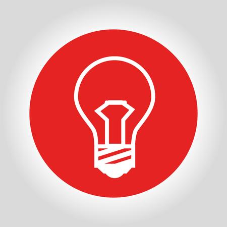 halogen: bulb light design, vector illustration   graphic Illustration