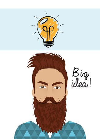 best idea: the best idea design, vector illustration   graphic Illustration