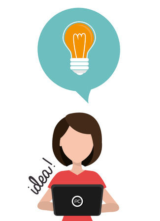 best idea: the best idea design, vector illustration  graphic