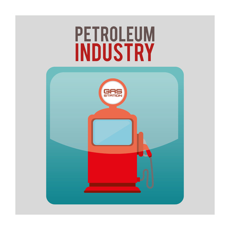 petroleum: petroleum industry design, vector illustration