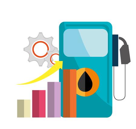 petroleum: petroleum industry design, vector illustration  Illustration