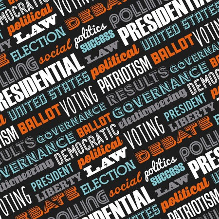 democratic: democratic election design  Illustration