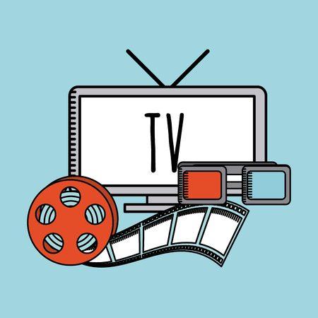 antena: entertaining movie design