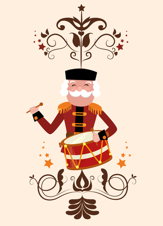 christmas military: happy merry christmas design
