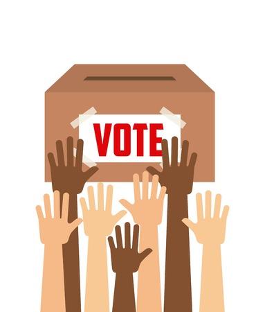 urn: democratic election design  Illustration