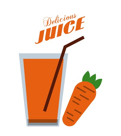 delicious: delicious drink design  Illustration