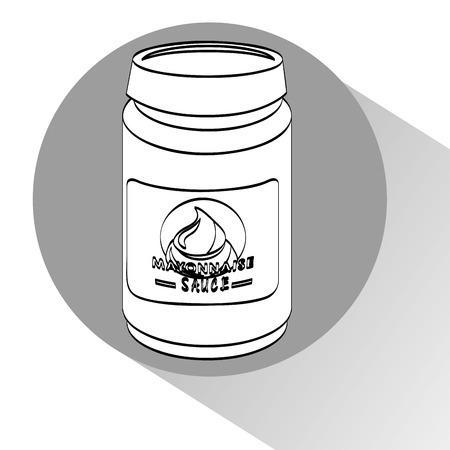sauce bottle: sauce bottle design