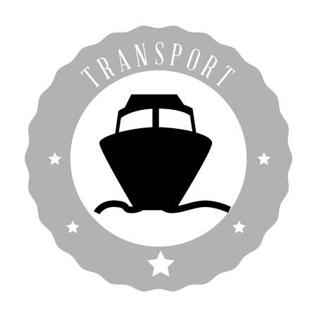 means of transport: means of transport design Illustration