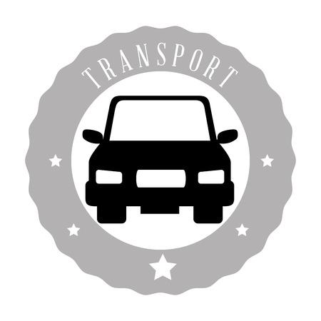means: means of transport design Illustration