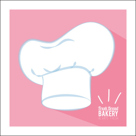 bakery products: always fresh bakery products design, vector illustration eps10 graphic
