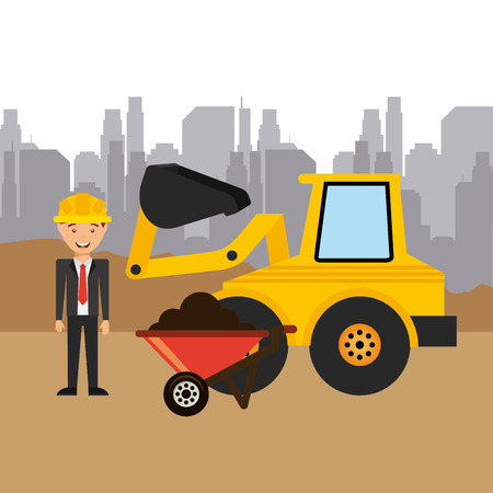 eps10: construction project design, vector illustration eps10 graphic