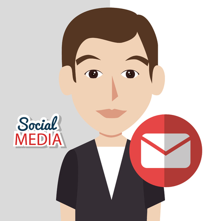 media icons: social media icons design, vector illustration eps10 graphic