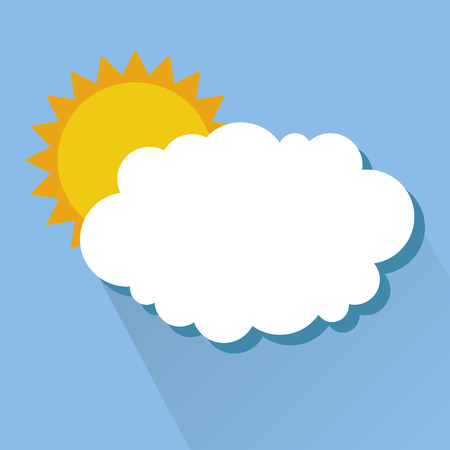 with sets of elements: weather concept design, vector illustration eps10 graphic