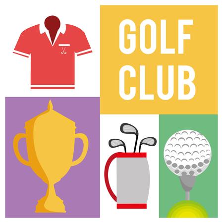 eps10: golf club design, vector illustration eps10 graphic