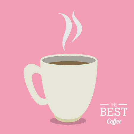 best coffee: the best coffee design, vector illustration eps10 graphic