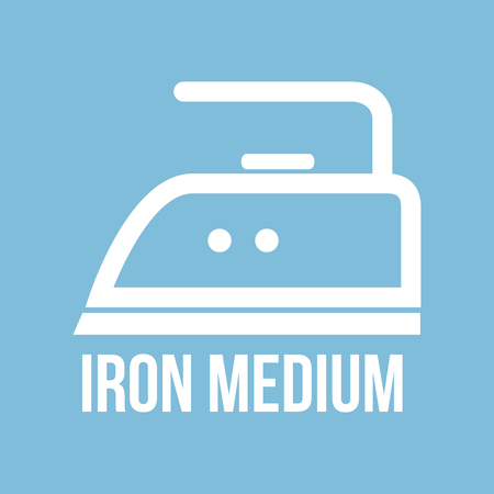 instructions: Ironing instructions design, vector illustration eps10 graphic