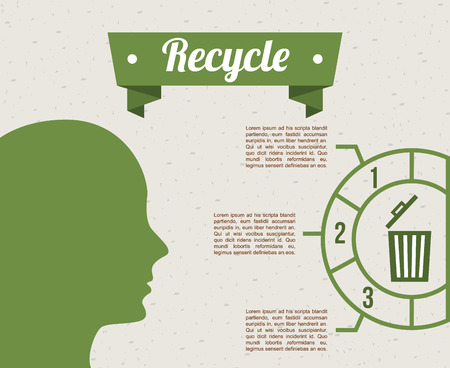 eco green: eco friendly design, vector illustration eps10 graphic Illustration
