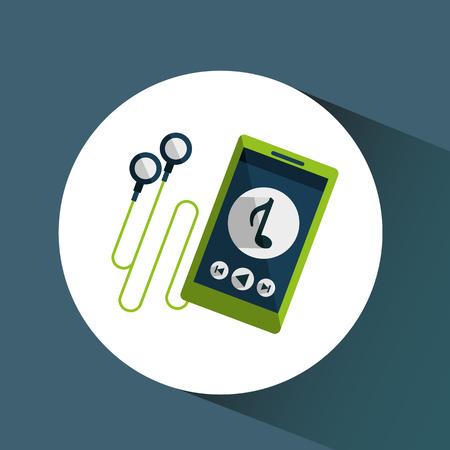 device: Technological device design Illustration
