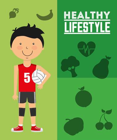 diseño de estilo de vida saludable