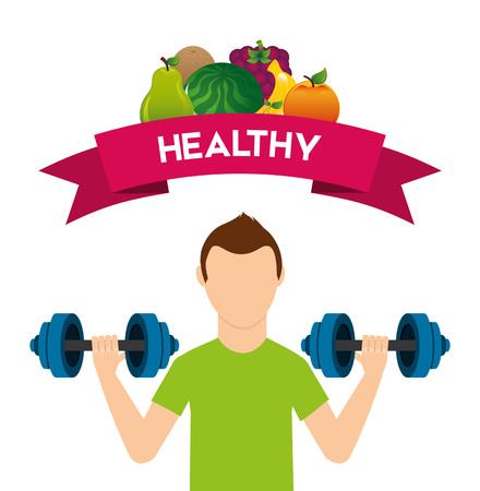 vida sana: diseño de estilo de vida saludable