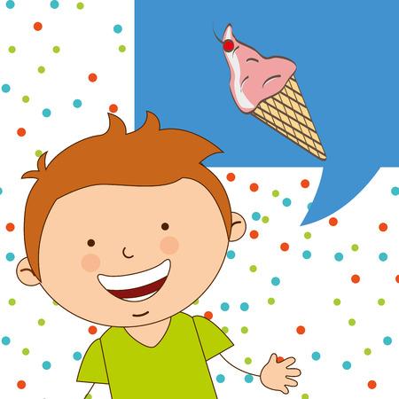 delicious: delicious ice cream design