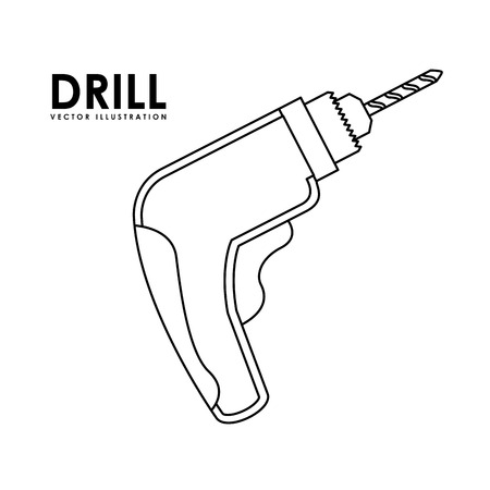 tool equipment design, vector illustration eps10 graphic