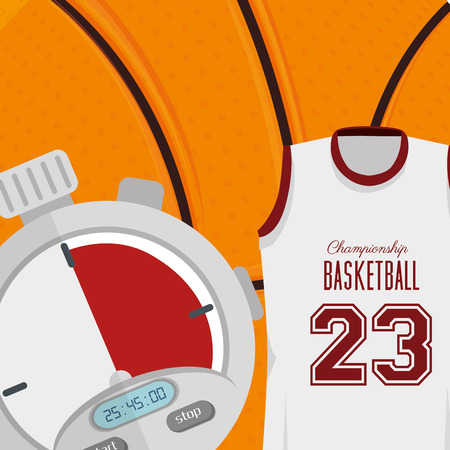 balon baloncesto: basketball sport design, vector illustration eps10 graphic Vectores