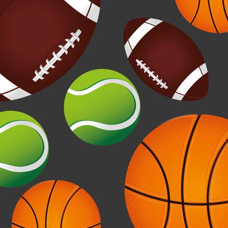 balon de basketball: diseño de la formación deportiva, ejemplo gráfico del vector eps10