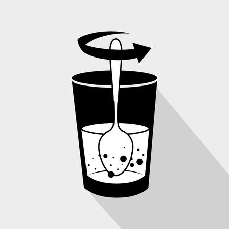 instrucciones: instrucciones de preparaci�n icono de dise�o, ilustraci�n vectorial gr�fico eps10 Vectores