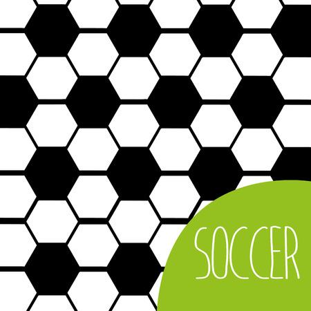 pelota de futbol: Diseño del fútbol del fútbol, ??ilustración vectorial gráfico eps10 Vectores