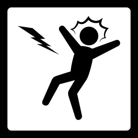 volt: warning signs design, vector illustration eps10 graphic