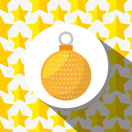 merry christmas design, vector illustration eps10 graphic