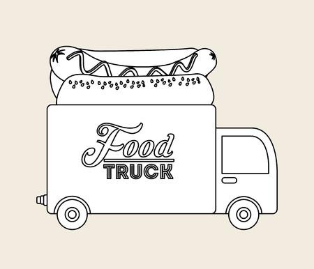lunch food: food delivery design, vector illustration eps10 graphic Illustration