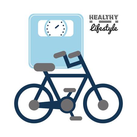 eps10: healthy lifestyle design, vector illustration eps10 graphic Illustration