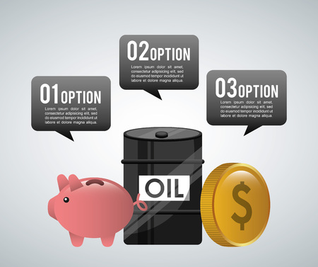 oil prices design, vector illustration eps10 graphic