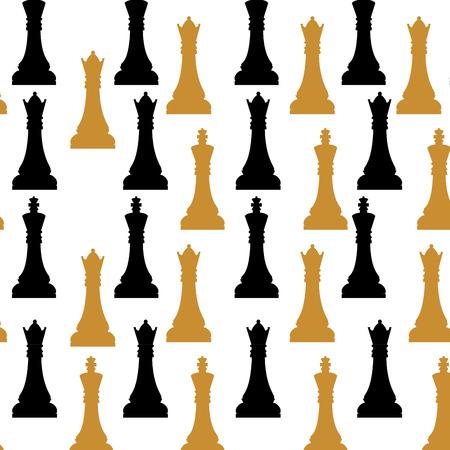 ajedrez: Juego de ajedrez icono del dise�o, gr�fico de vector eps10