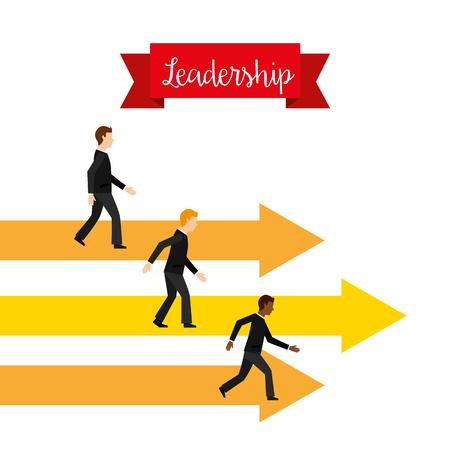 business leadership design, vector illustration eps10 graphic