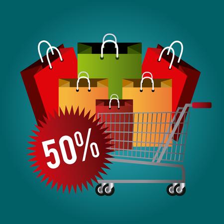 monday: Cyber monday shopping season, vector illustration eps10. Illustration