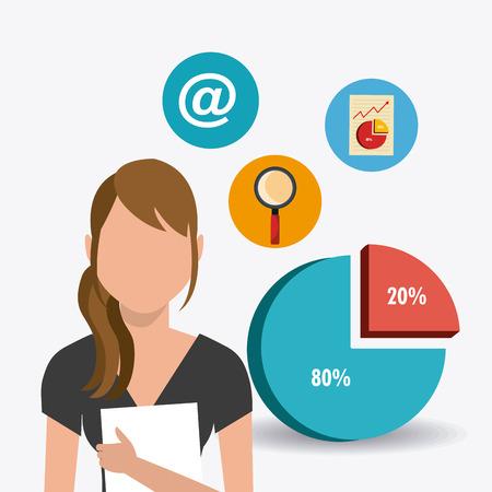 internet sale: Digital and technology marketing design, vector illustration eps10