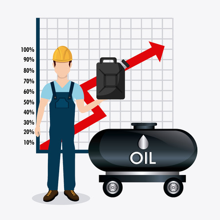 fuel economy: Fuel prices economy design, vector illustration eps10 Illustration