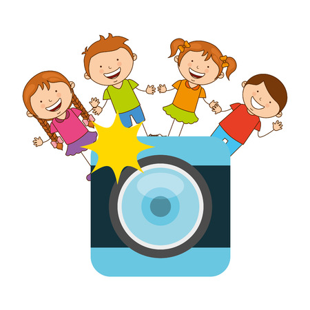 hobby: photographic hobby design, vector illustration eps10 graphic