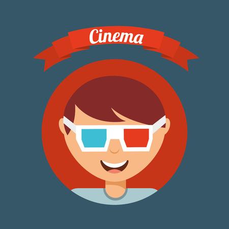 cinematographic: cinematographic hobby design, vector illustration eps10 graphic Illustration