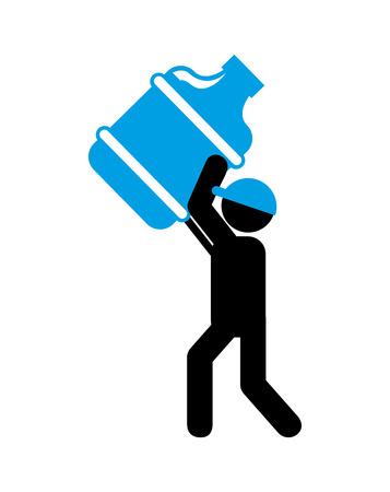 bottling: bottling Company design, vector illustration eps10 graphic Illustration