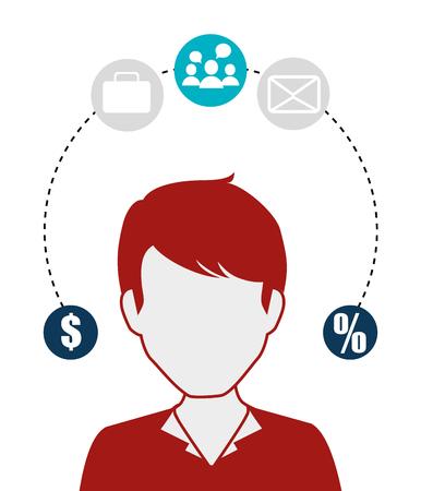 socialising: Los medios sociales y el diseño de comercio electrónico, gráfico de vector.