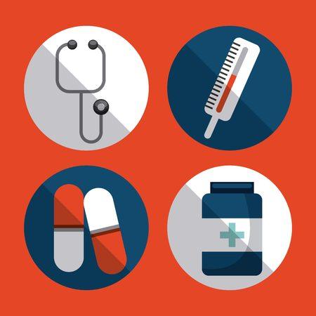 termometer: healthcare concept design, vector illustration graphic