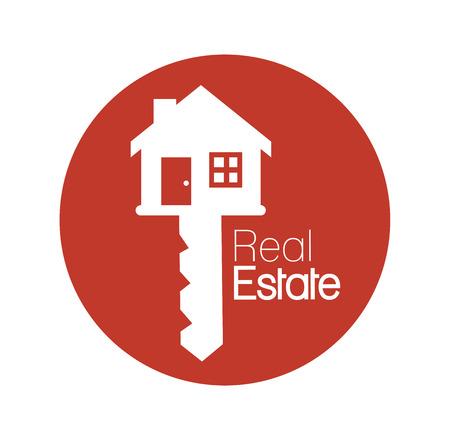 real estate business: Real estate business graphic design, vector illustration.