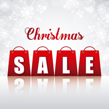 christmas sale design, vector illustration graphic
