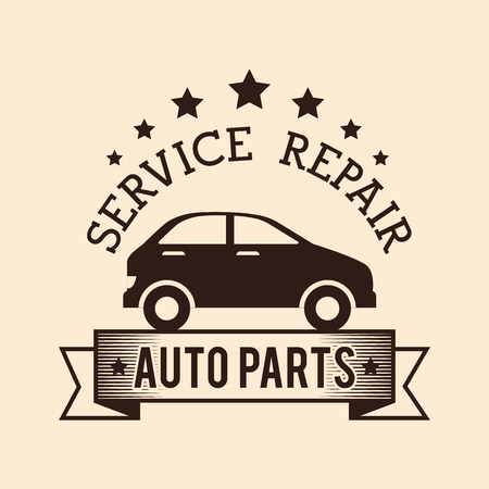 power delivery: Vehicle service repair design, vector illustration graphic.