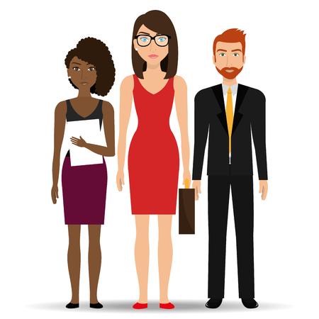 Business people and entrepreneur design, vector illustration.