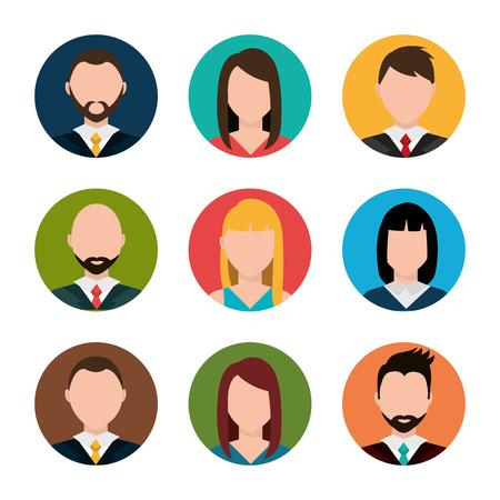 Find person for job opportunity, vector illustration design